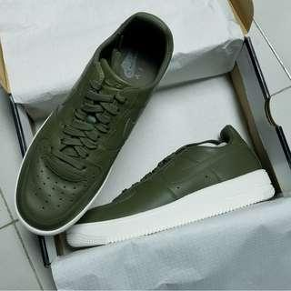Nike Air Force 1 Ultraforce LTHR Olive Green