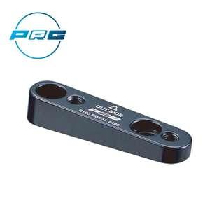 PRGcycle PBA-20 Disc brake adapter Black color For flat mount caliper, flat mount frame and 160mm rotor.