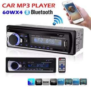 Car Radio Stereo Player Bluetooth Phone AUX-IN MP3 FM/USB/1 Din/remote control 12V Car Audio Auto 2017 MP3 Player for Auto