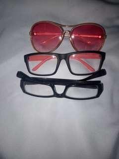 take all glasses / kacamata