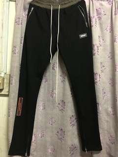 Nerdunit ss18 ankle zip track pants
