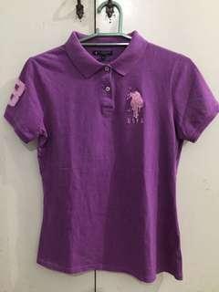 USPA Poloshirt (Purple)