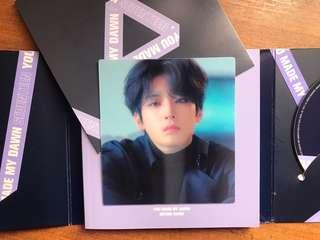Wonwoo lenticular card