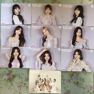 🚚 [PO] TWICE TWICE2 Japan HMV Flyer Photocard