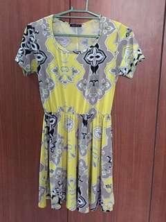 Black Sheep Yellow Dress (Preloved)