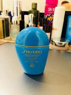 Shiseido Liquid Foundation UV Protection