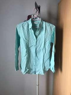 Polkadot Mint Shirt