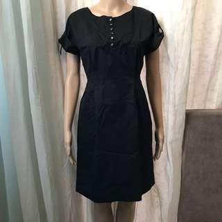 UNIQLO BASIC BLACK DRESS (preloved)