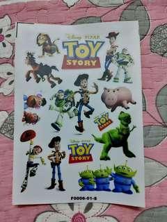 Toy Story A5 sticker