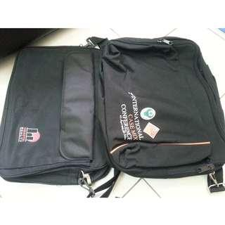 Two Laptop bags in RM25