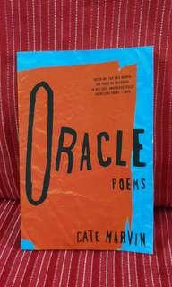🚚 💡Oracles Poems by Cate Marvin