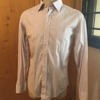 🚚 Zara h&m Men L/S Shirt Sz L -4pcs for $50!!
