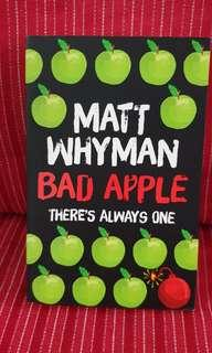 🚚 💡Bad Apple There's always one by Matt Whyman
