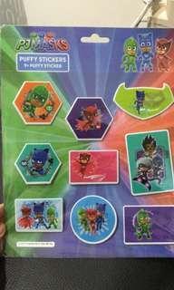 Puffy Stickers PJ Masks