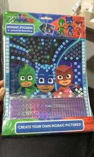 Mosaic Stickers PJ Masks