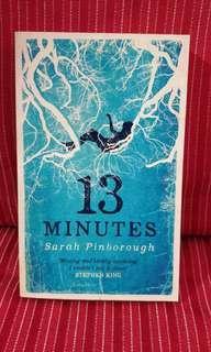 🚚 💡13 Minutes by Sarah Pinborough