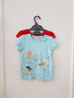2in1 tee girl mothercare