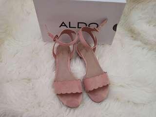 Sepatu sandal wrn peach/pink muda
