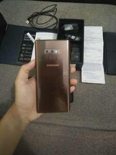 Samsung galaxy note 9 sein fullset asuransi masih garansi