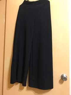 Long culottes black new