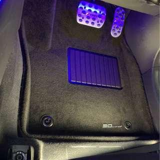 3D MAXpider Royal Car Mats - Toyota C-HR FWD (Gasoline)