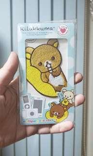 正品全新鬆弛熊貼紙布質