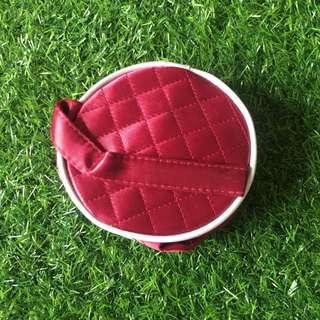#shero Red make up pouch
