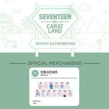 Seventeen Carat Land 2019 Goods Photo Set Tingi