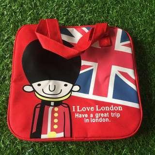 #shero Red cooler bag