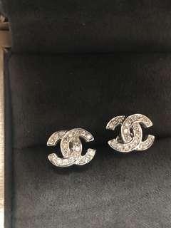 超閃18K真金真鑽石💠耳環