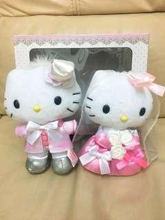 Hello Kitty 結婚公仔