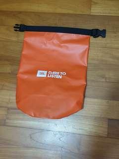 Brand new JbL Orange Squad Waterproof Bag