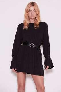 The Fifth Flute long sleeve knitted dress