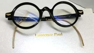 🚚 Authentic Laurence Paul Premium Design Eyewear Hand Made Canada Black Emperor PuYi China