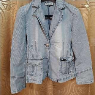 Karen Jeans Denim Jacket Small to Medium