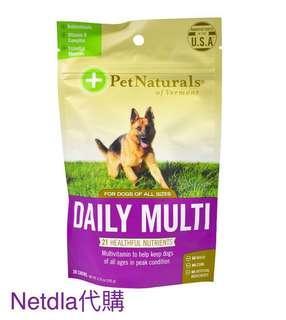 *團訂18/3截* 美國制 犬隻每日多元營養片 30片 105g