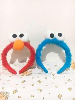 Bando Elmo dan Cookie Monster ori SG