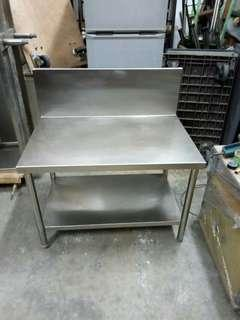 Stainless Steel working Table FREE DELIVERY