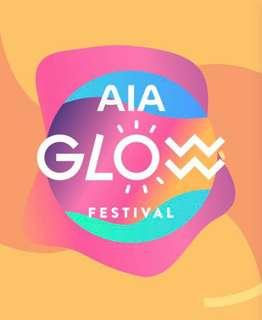🚚 A pair of AIA Glow Festival All-Day Pass