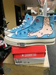 Converse CT 70's High x Undercover x Wear A Sock Original
