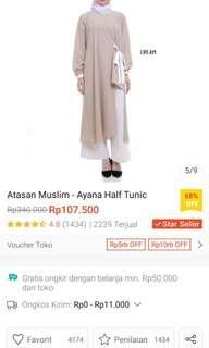 Ayana Half Tunik