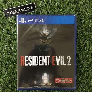 [NEW] PS4 RESIDENT EVIL 2 REMAKE R3 - ACCEPT TRADE-IN | NEW PS4 GAMES (GAMEZMALAYA)