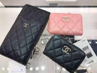 6ffe7ac1 Chanel 17B O Coin Purse/Flap Card Holder, Luxury, Bags & Wallets ...