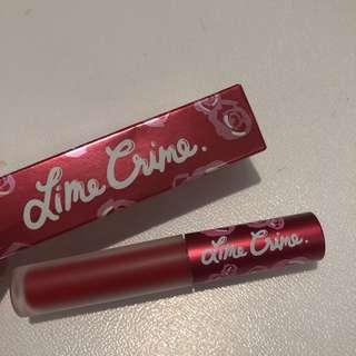 Lime Crime Red Velvet Matte Lipstick