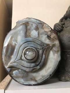 🚚 天珠原礦 擺件立體手工雕