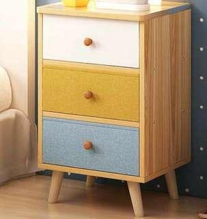 Scandinavian  Linen  Drawers  Side Ens Table Furniture