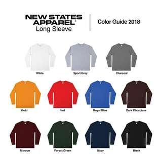 NEW STATES APPAREL PREMIUM LONG SLEEVE