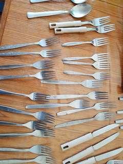 Spoon, Fork, & Knife