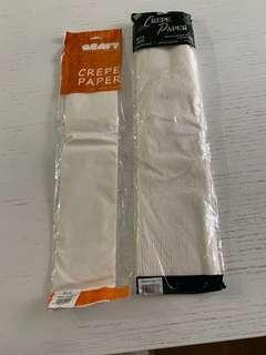 Crepe papers