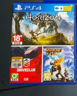 Kaset PS4 BD HORIZON ZERO DOWN Murah